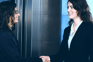 women supporting other women at work