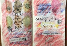 art journaling, coaching
